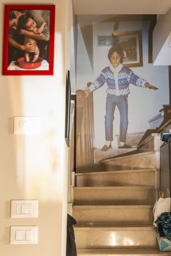 proiezione sulle scale